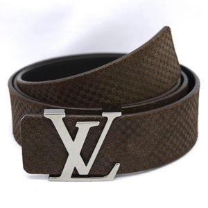 Louis Vuitton Men's Mocha Belt